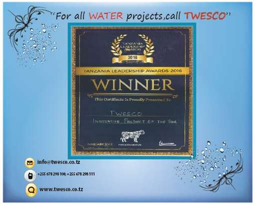 For All WATER Projects ,Call TWESCO