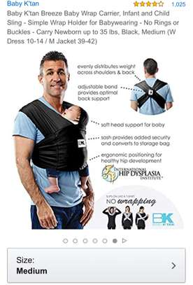 Baby Wrap Carrier image 2