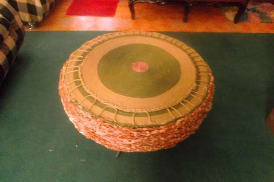 Hand Made coffee table from used tyres