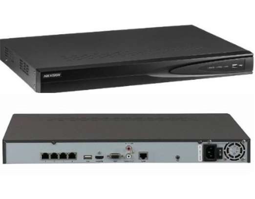 DS-7604NI-Q1/4P | NETWORK VIDEO RECORDER | 4-ch 1U 4 PoE 4K NVR image 4