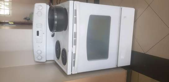 Stove cooker electric with oven image 1