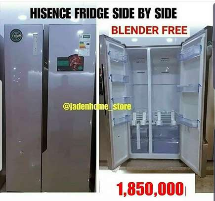 HISENSE AMERICAN DOORS FRIDGE AVAILABLE AT OUR STORE