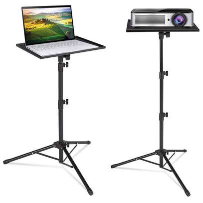 Best Selling Folding Floor Tripod Stand Portable DJ Equipment Stand Projector/Universal Laptop Tripod Stand For Stage or Studio image 1