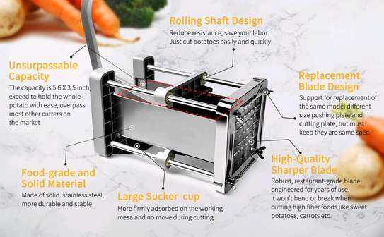 UPGRADED FRENCH FRIES CUTTER...300,000/= image 3