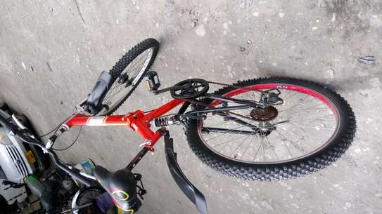 Full-suspension mountain bike image 2