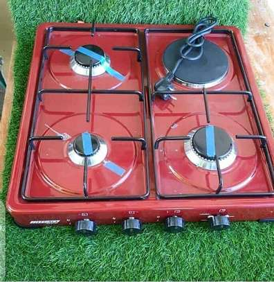 Gas and electric  cooker image 1