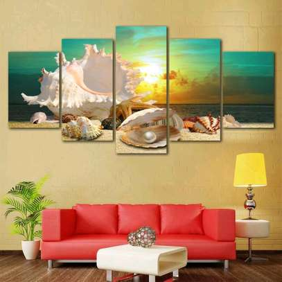 MODERN WALL CANVAS PAINTING image 6