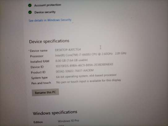 Dell latitude E 5470 image 3