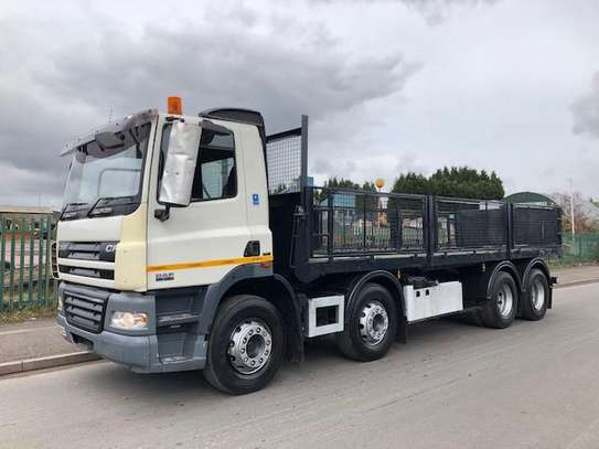 2008 DAF C85 8X4 FLATBED TSHS 102.5MILLION