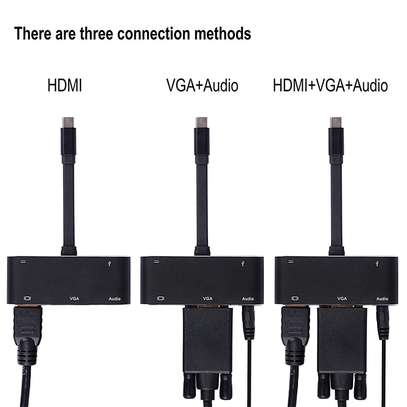 USB C type to HDMI Adaptor 4k image 1