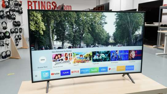 SAMSUNG SMART|CURVED TV 4K UHD TVz Model-65NU7300Series