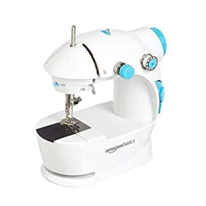 Mini Household 1 Stitch Sewing Machine with 2 Speed Function & Extension Table image 1
