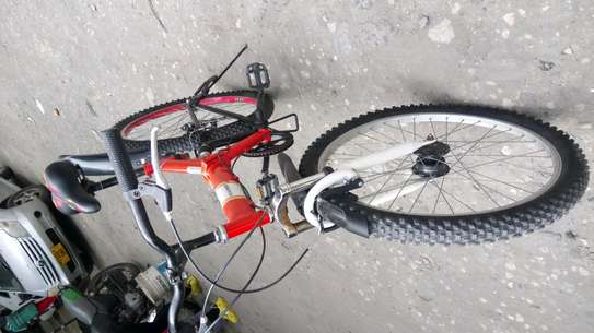 Full-suspension mountain bike image 3