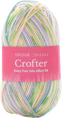 Sirdar Snuggly Baby Crofter DK Double Knitting