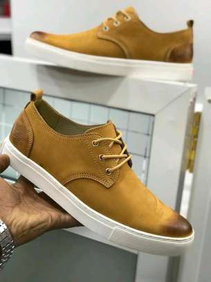Timberland flat leather shoes.