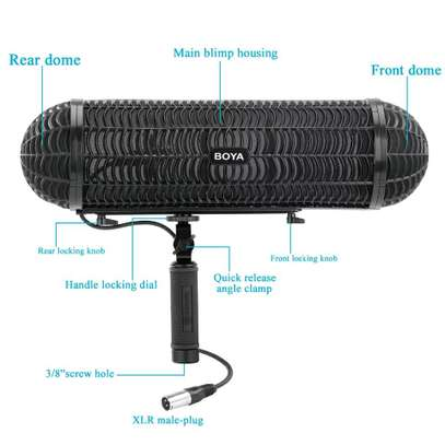 BOYA BY-WS1000 Microphone Blimp Windshield Suspension System image 7