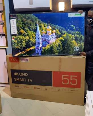 TCL UHD Android Smart TV 55 Inches image 1