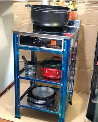 Stainless Steel Single Burner Gas Stove with Stand...165,000/= image 1