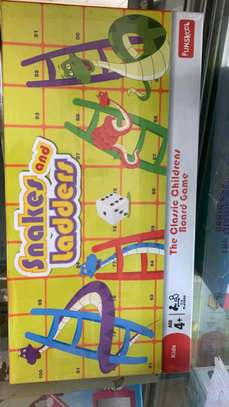 Snake and ladders board game image 1