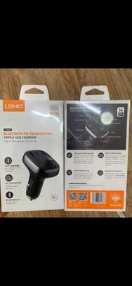 Ldnio car bluetooth and fast charger image 4