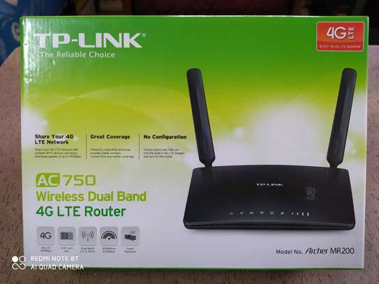 TP-LINK WIRELESS AC750 DUALBAND 4GLTE ROUTER