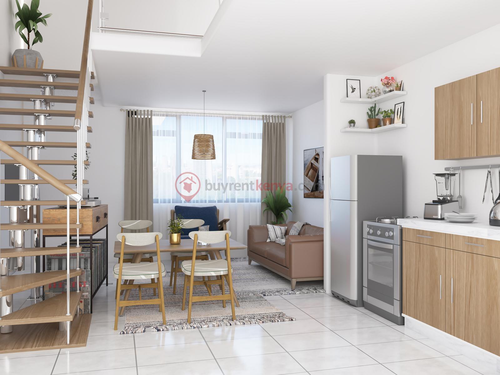 One Bedroom Duplex (1)
