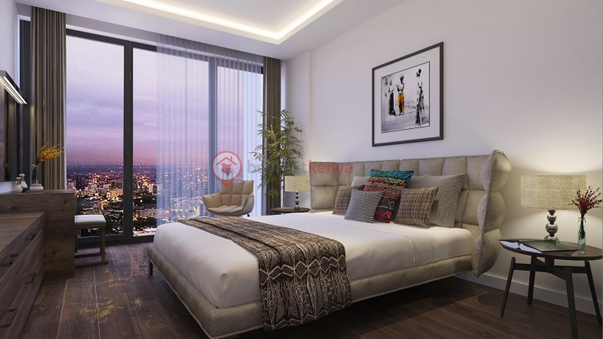 Executive 06-Large Bedroom (Night  View)