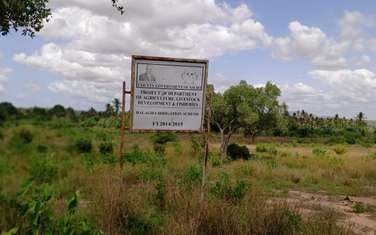 Land for sale in Malindi Town