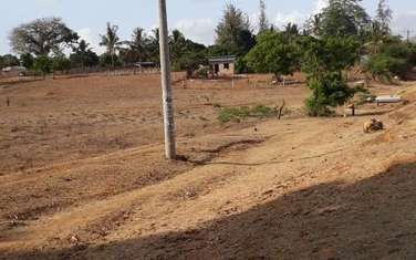 Commercial land for sale in Kilifi