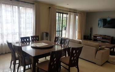 Furnished 3 bedroom apartment for rent in Westlands Area