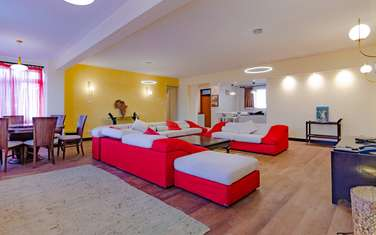 Furnished 3 bedroom house for rent in Westlands Area