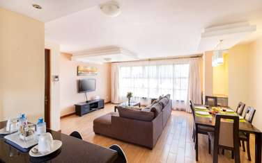 Furnished 2 bedroom apartment for rent in Kilimani
