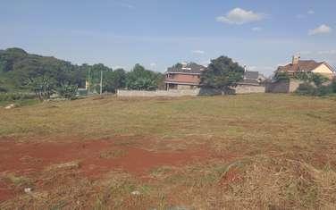 Residential land for sale in Kiambu Road