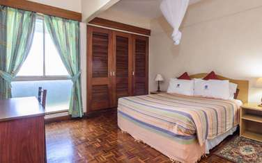 Furnished 3 bedroom apartment for rent in Cbd