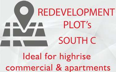 Commercial land for sale in South C