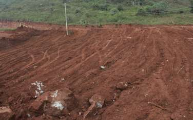0.125 ac residential land for sale in Kikuyu Town