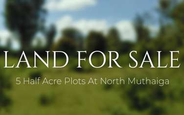 2023 m² residential land for sale in Muthaiga Area