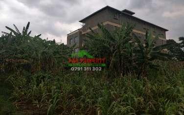0.1 ha commercial land for sale in Kinoo