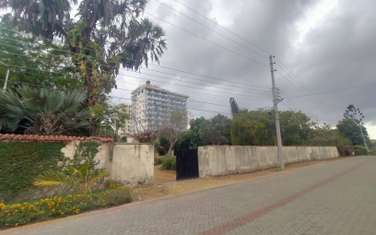 Residential land for sale in Nyali Area