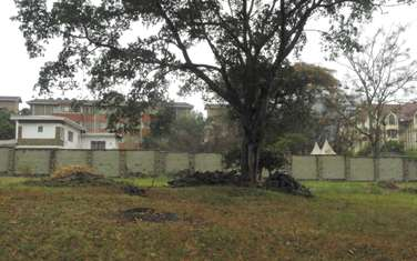 Commercial land for sale in Kilimani