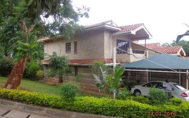 Furnished 4 bedroom house for rent in Riara Road