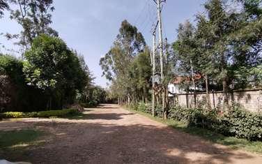 0.5 ac residential land for sale in Karen