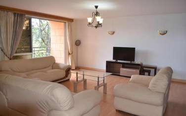 Furnished 3 bedroom apartment for rent in Muthaiga Area