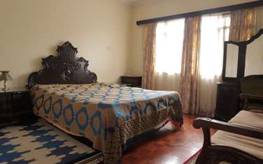 Furnished 3 bedroom townhouse for rent in Westlands Area