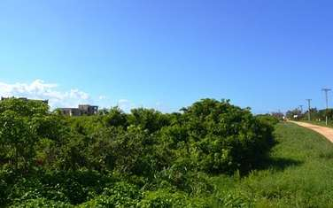 4047 m² residential land for sale in vipingo