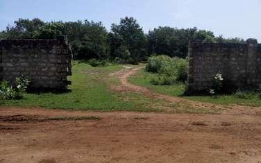 0.125 ac land for sale in Ukunda