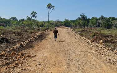 5000 ft² land for sale in Diani