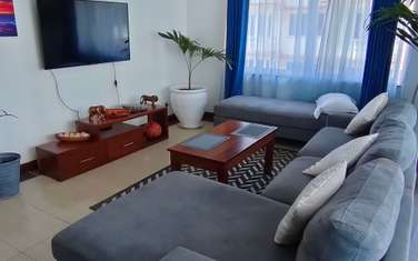 Furnished 2 bedroom apartment for rent in Mkomani