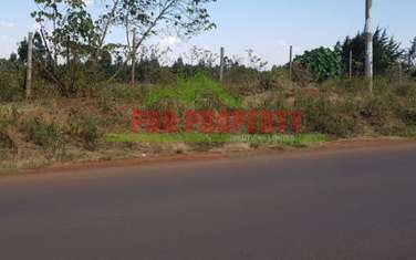 4000 m² commercial land for sale in Kikuyu Town