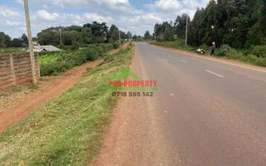 0.1 ha commercial land for sale in Kikuyu Town